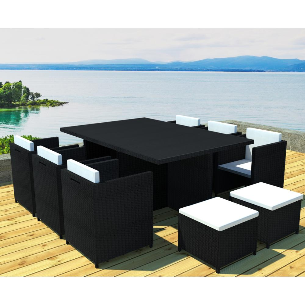 Tresse De De Table Noir Table Jardin Jardin oCQrxeBWd