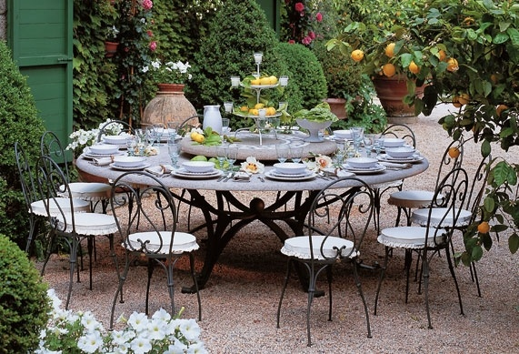 table de jardin unopiu