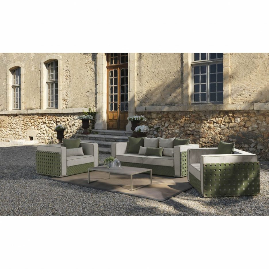 table de jardin urban living