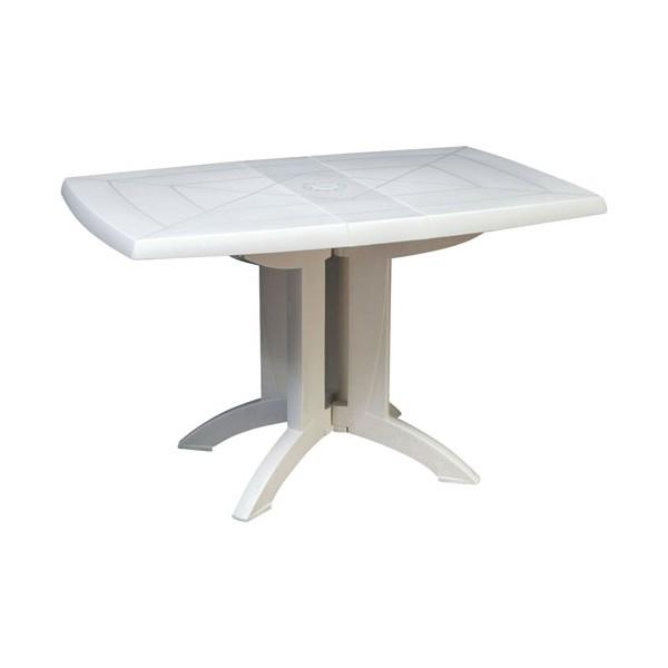table de jardin vega blanc