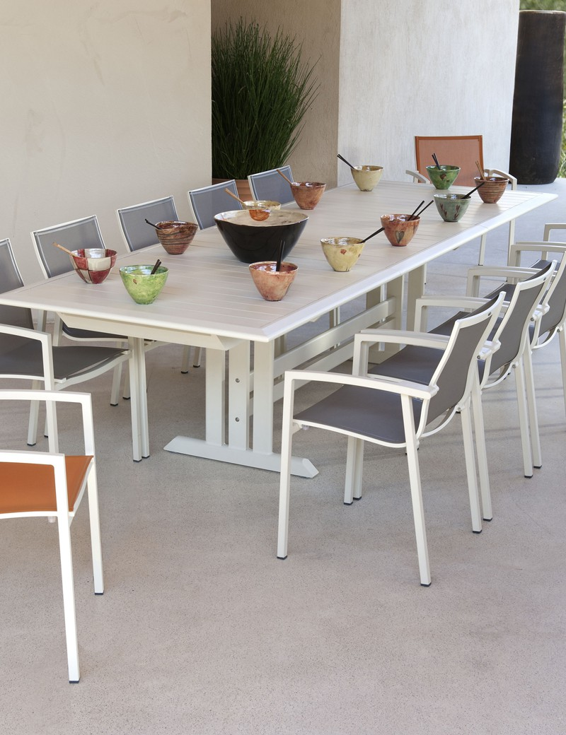 table de jardin vente privee