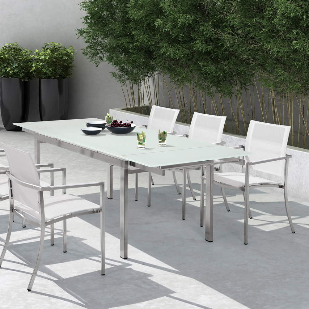 Emejing Table De Jardin Extensible Pvc Pictures - House Design ...