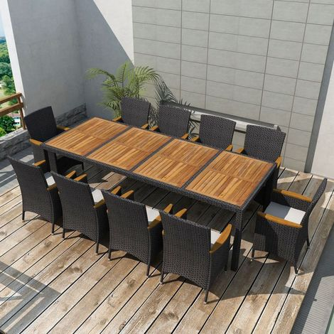 table de jardin vidaxl