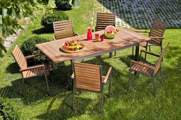 table de jardin villaverde