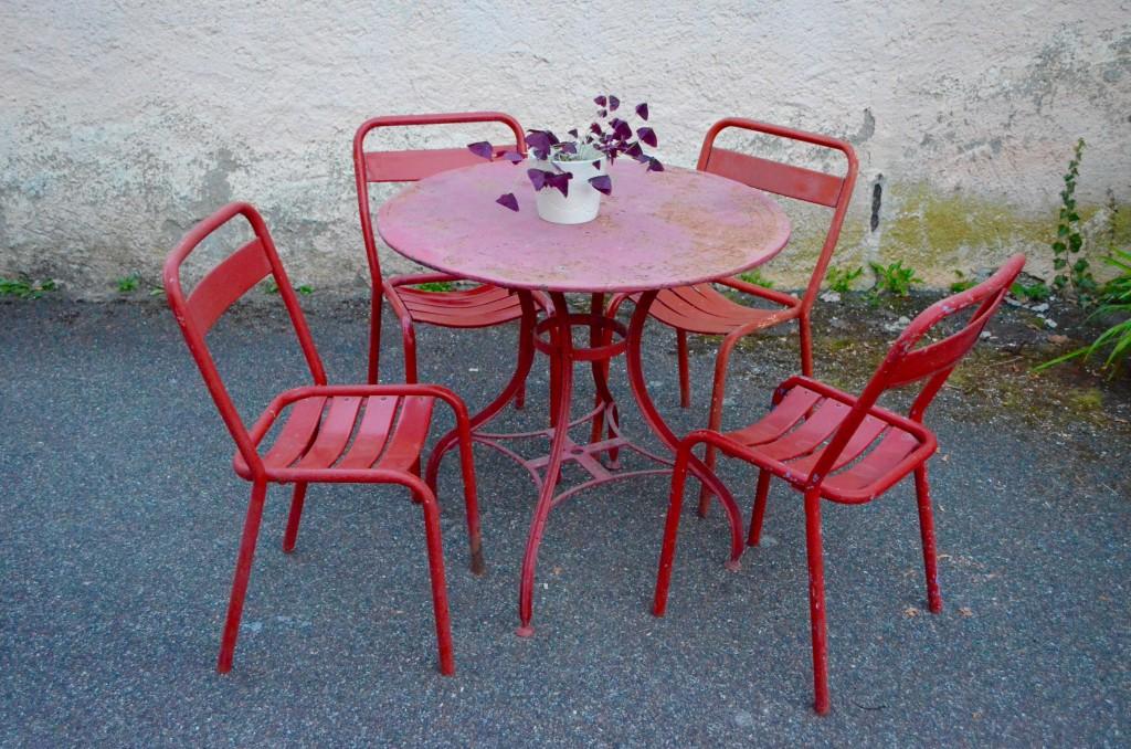 Best Table De Jardin Vintage Images - House Interior ...