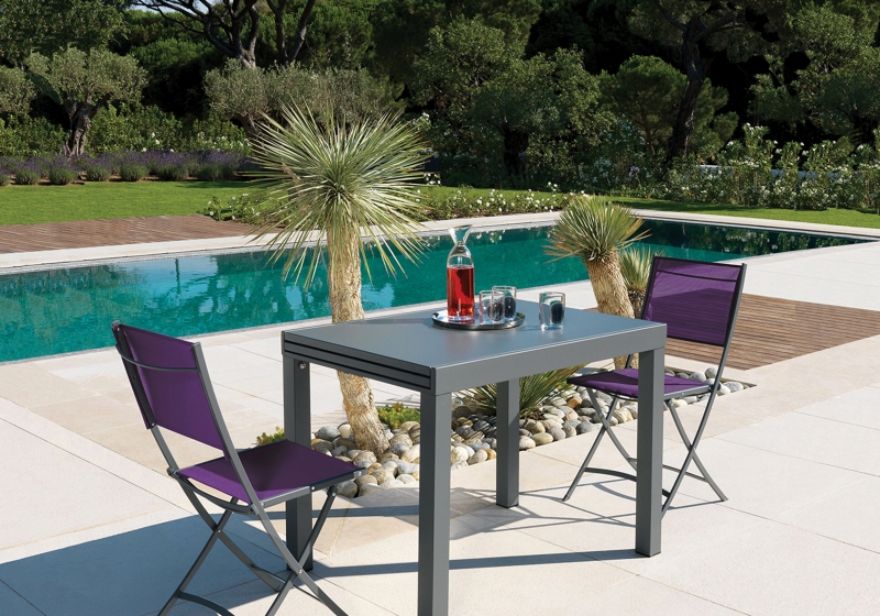 table de jardin vlaemynck