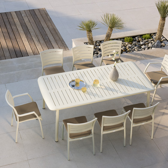 table de jardin vlaemynck