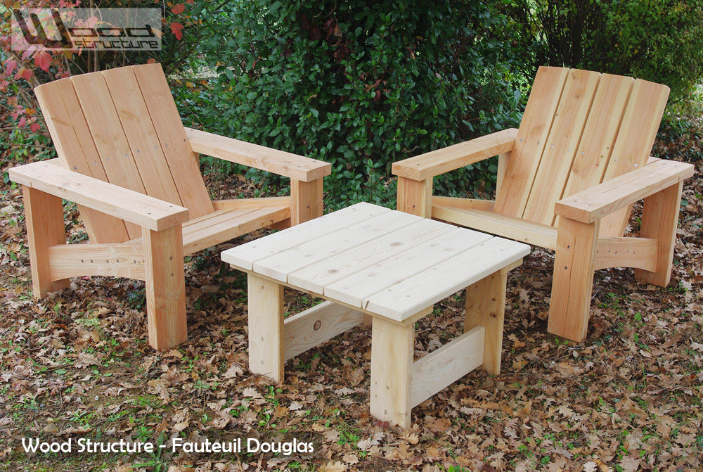 table de jardin wood