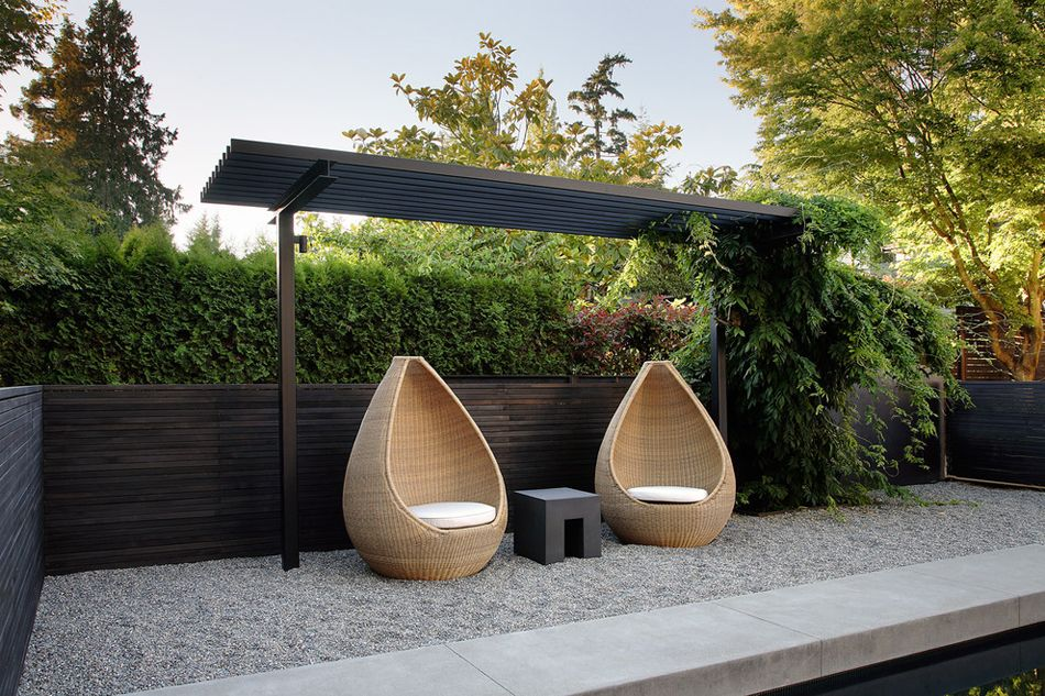 table de jardin zen