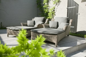 transat jardin confortable