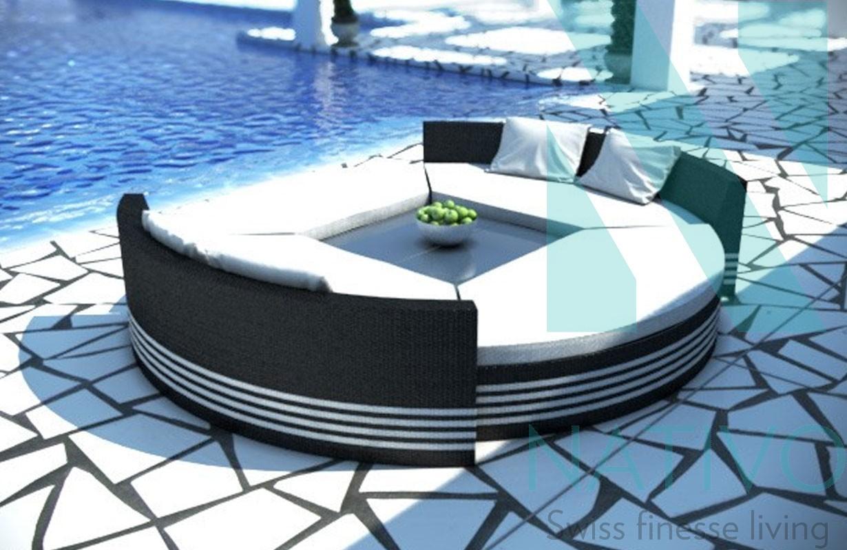 salon de jardin lounge
