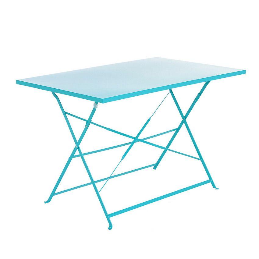 table de jardin 110 x 70