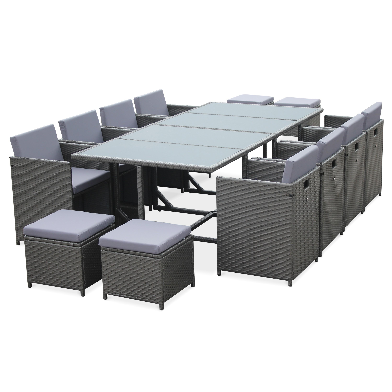 table de jardin 12 places