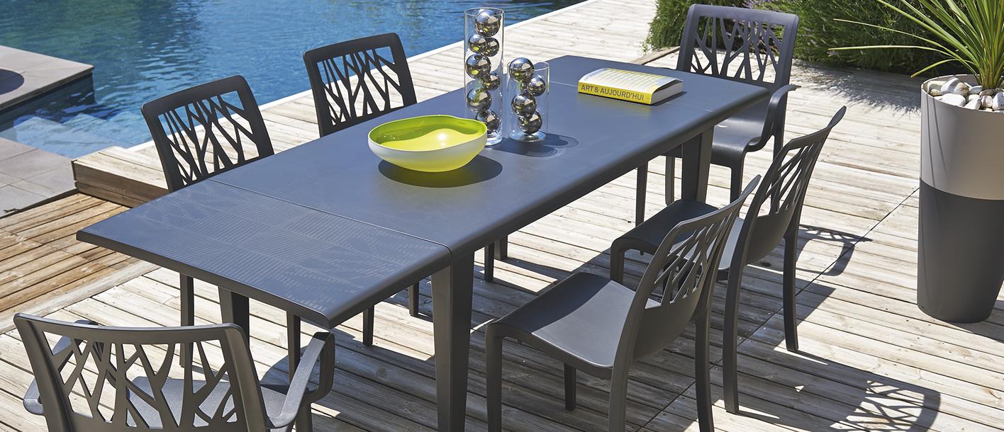 table de jardin 240