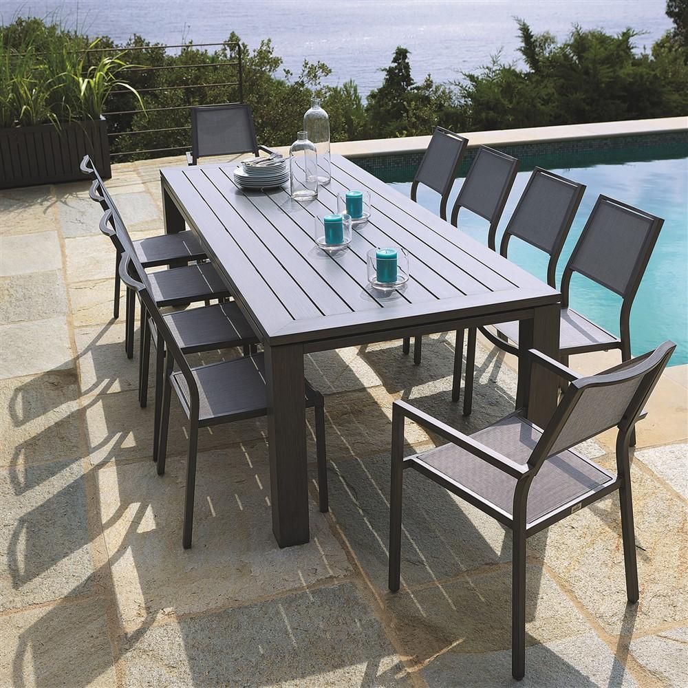 table de jardin 3m20