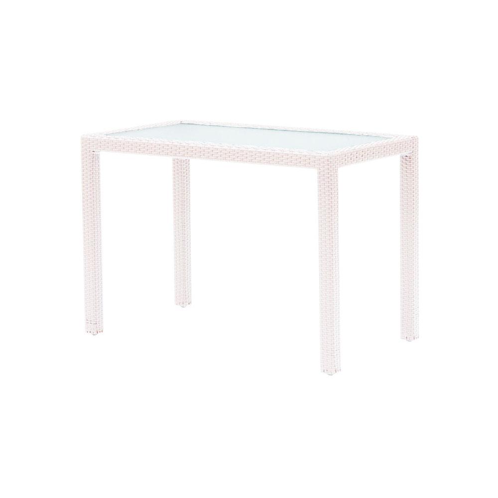 table de jardin 60 x 60 resine