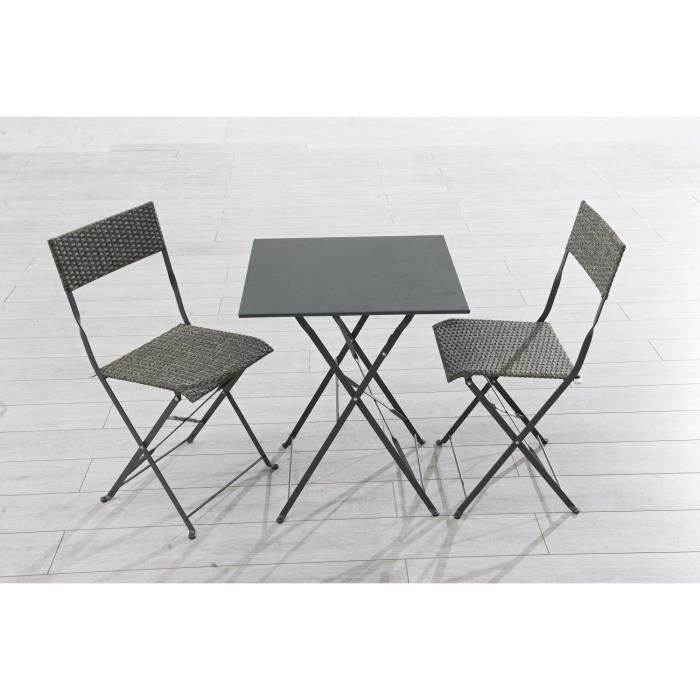 table de jardin 60×60