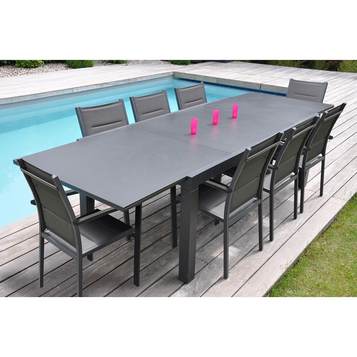 table de jardin 8 places carrefour
