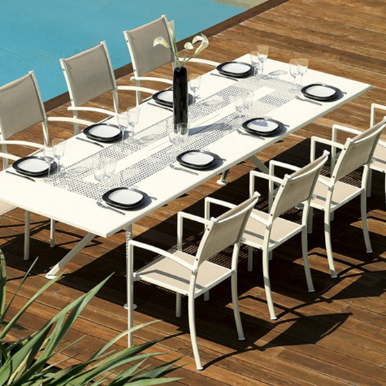 table de jardin 90×160