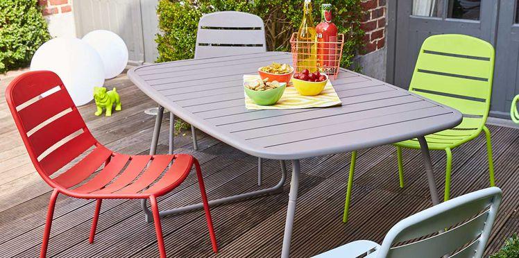 table de jardin carrefour