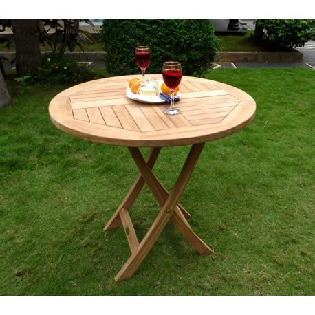 table de jardin diametre 70