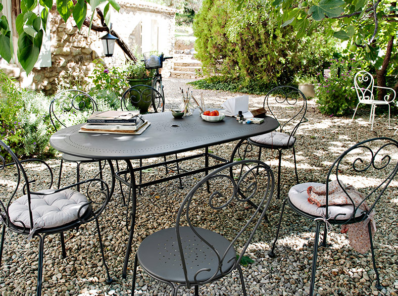 table de jardin grosfillex castorama