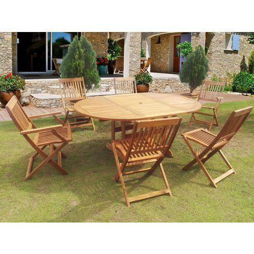 table de jardin habitat