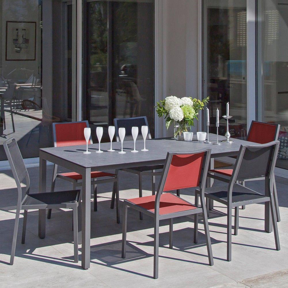 table de jardin hpl