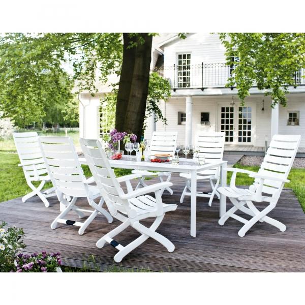 table de jardin kettler