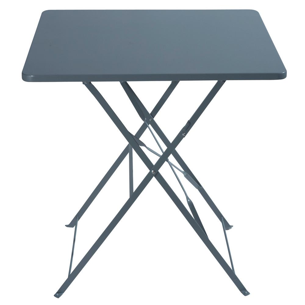 table de jardin metal 70×70