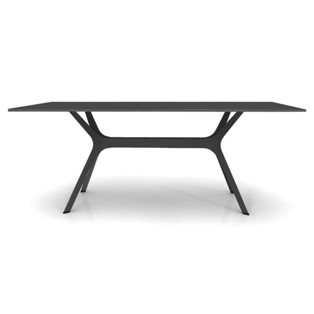 table de jardin plateau hpl