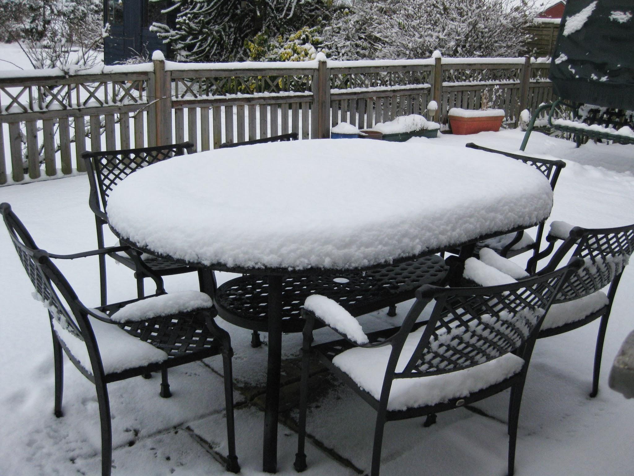 table de jardin qui peut rester dehors