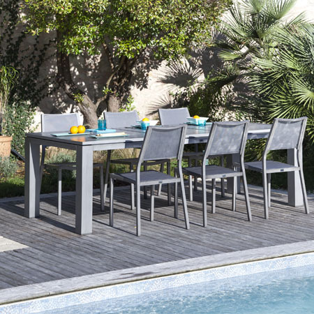 table de jardin resistant aux intemperies