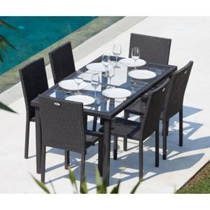 table de jardin soldee
