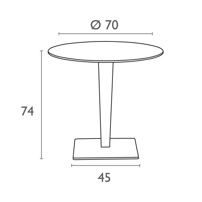table de jardin werzalit