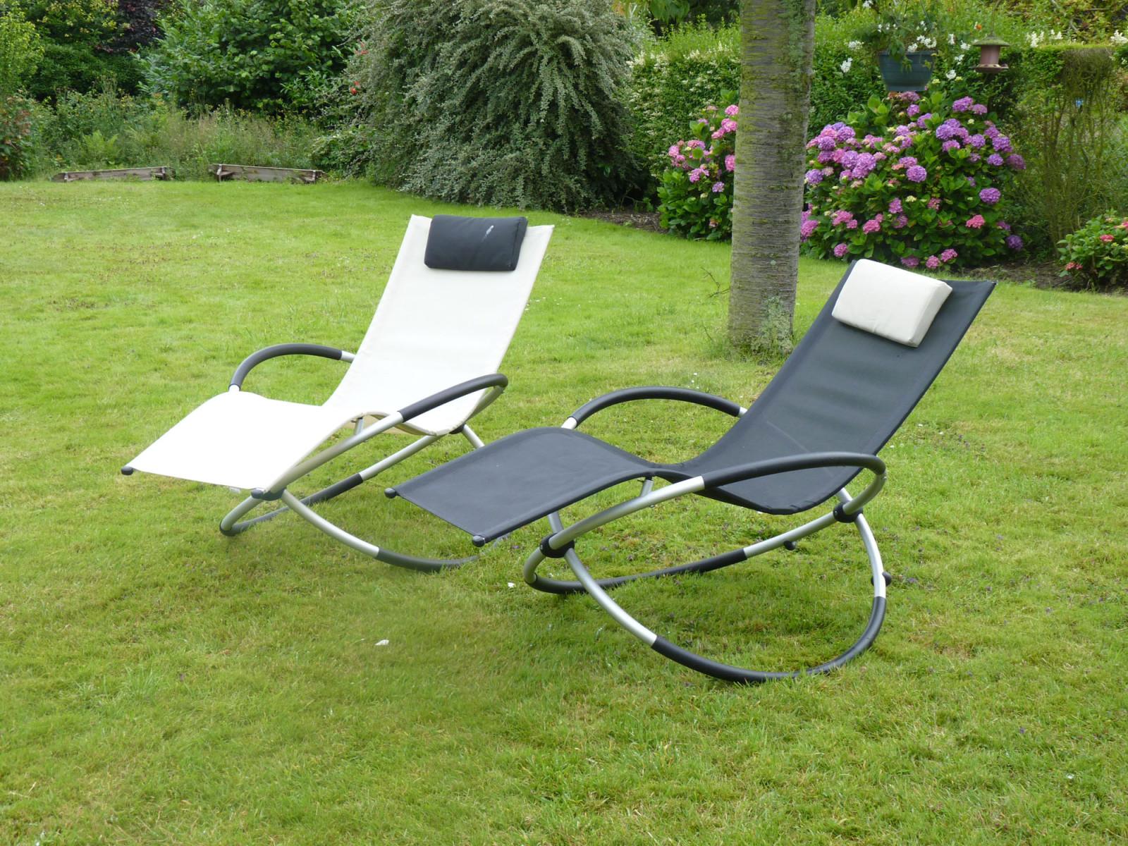 transat de jardin rocking chair